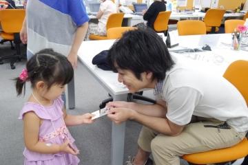 【事例紹介】子どもと一緒に出社する日 / 子ども参観デーを行いました!