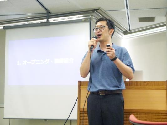 GOB Incubation Partnersの櫻井さまより、「事業を推進する」「ビジネスをうまく回す」「社会をよりよくする」触媒なるためのファシリテーションの基礎を学びました。