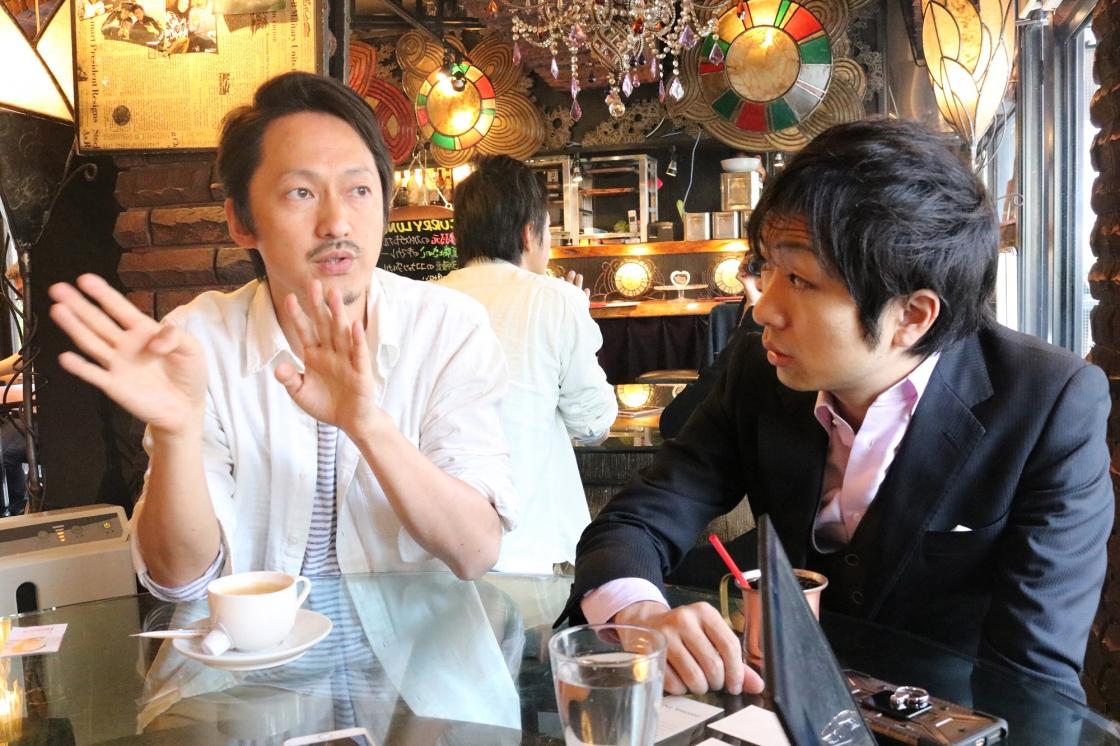三茶ファームについて語る千田さんの写真