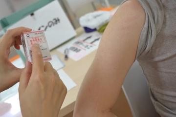 ストップ風疹!!フローレンスでは保育現場スタッフ、本部スタッフの予防接種を実施