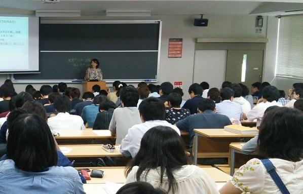【活動紹介】学生のうちから、「子育てと仕事の両立」を考える 〜キャリア教育 出張授業〜