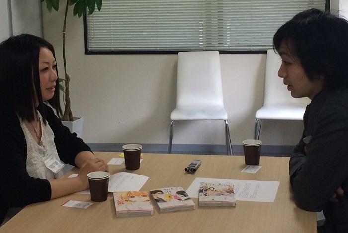マンガ「37.5℃の涙」の作者 椎名チカ先生と対談しました!