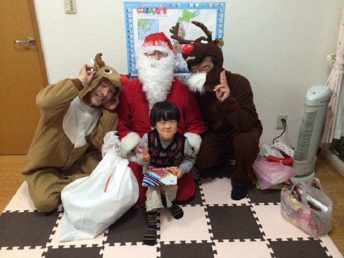 【イベント報告】イブの夜に子どもたちに夢を!「サンタ・プロジェクト 2014」を開催しました!